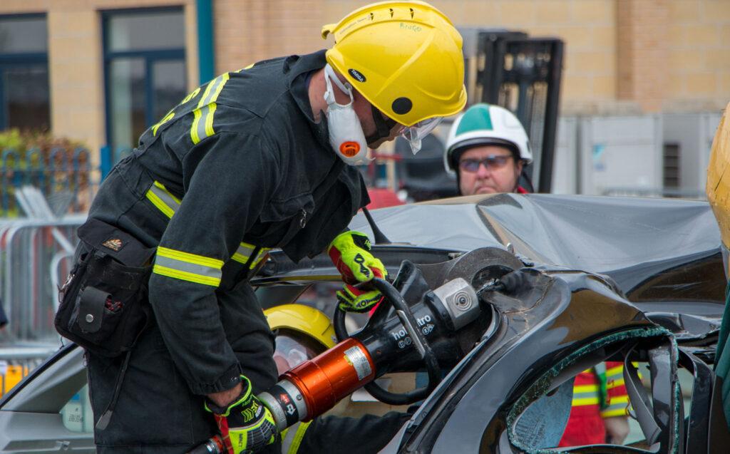 Image of vehicle extrication challenge