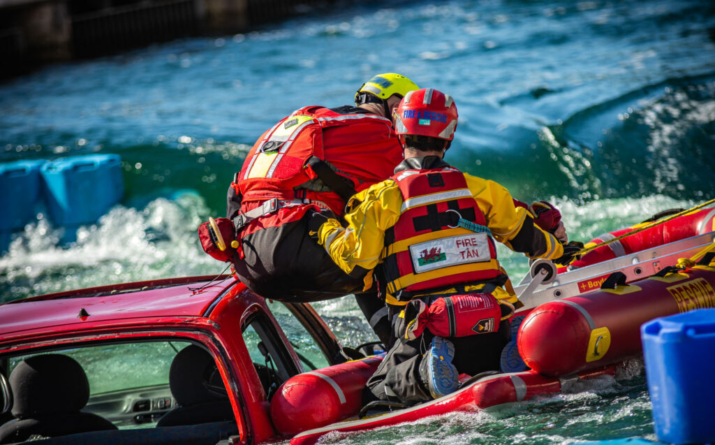Image of water rescue challenge